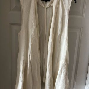Who What Wear Linen Blouse